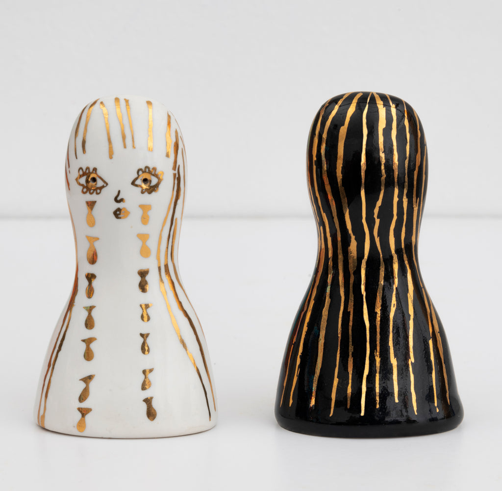 Salt & Pepper Shakers by Summer Wheat