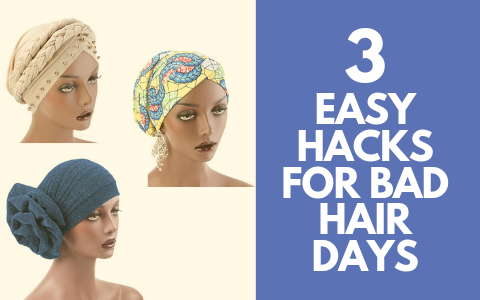 3 Super Easy Hacks For A Bad Hair Day
