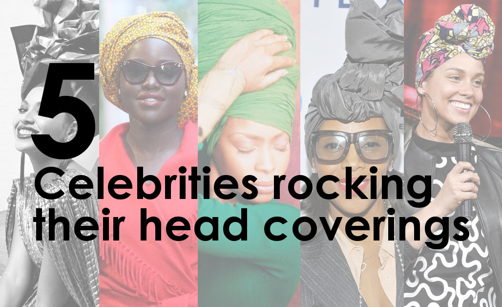 5 Celebrities Rocking their Head Coverings