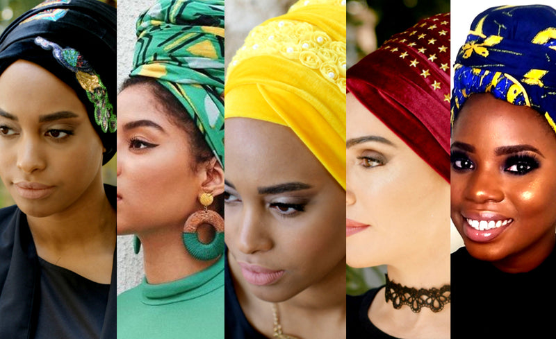 How to Match the Color of your Head Covering to Your Mood