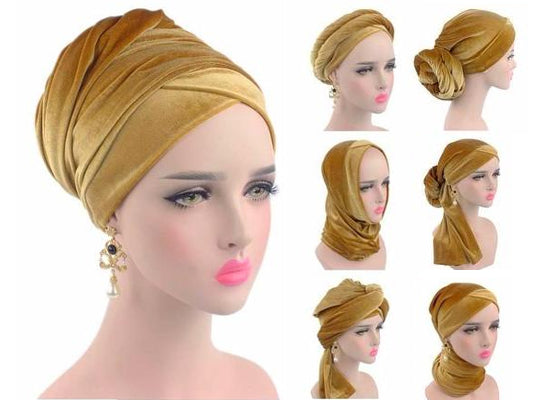 How to wear turban head wrap modest fashion mall