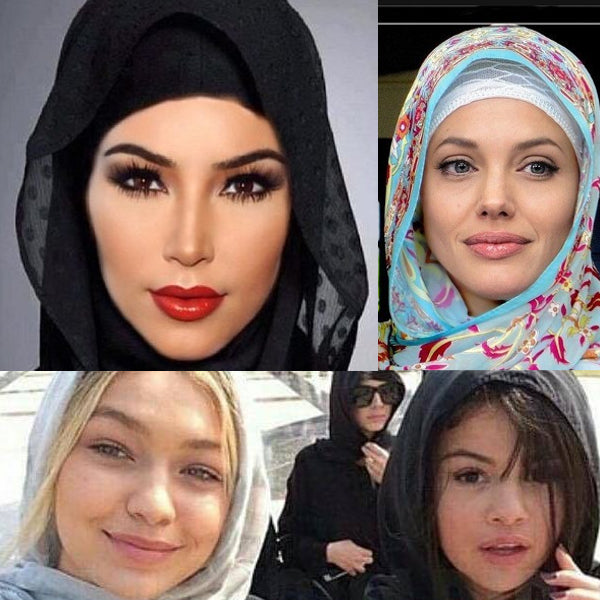 Modest Fashion Mall Blog post article head coverings hijabs turbans celebrities