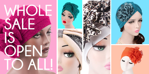 Modest Fashion Mall turbans hijabs head coverings head wraps wholesale prices discounts bulk
