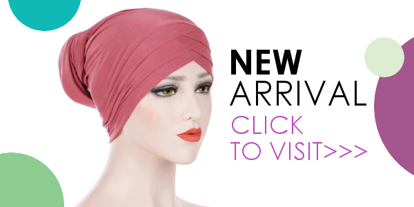 Modest Fashion Mall head coverings head wraps turbans pre-tied hijabs new arrival jenice