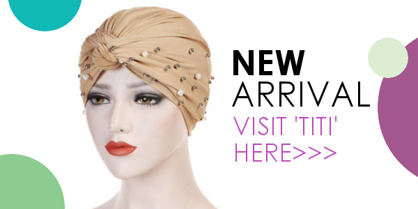 Modest Fashion Mall head coverings head wraps turbans pre-tied hijabs new arrival titi