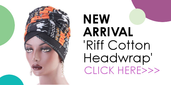 Modest Fashion Mall head coverings head wraps turbans pre-tied hijabs new arrivals riff cotton headwrap
