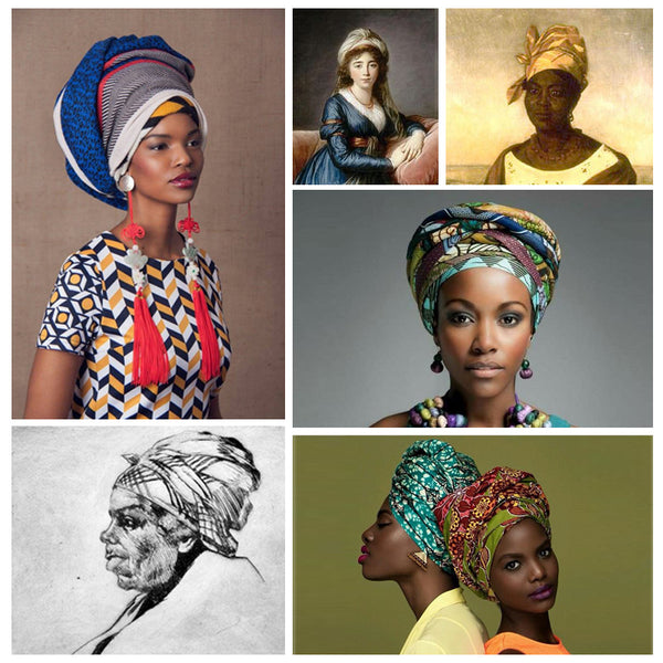 Modest fashion mall evoluiton of head covering blog post head wraps turbans hijabs bandannas1