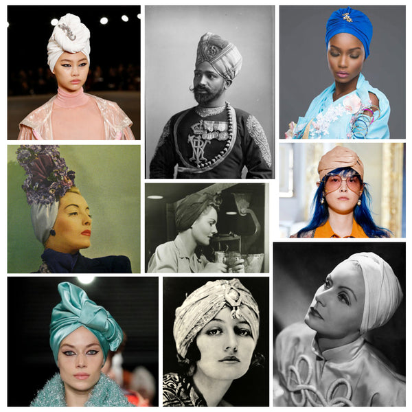 Modest fashion mall evoluiton of head covering blog post head wraps turbans hijabs bandannas2