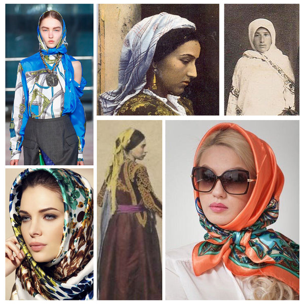 Modest fashion mall evolution of head covering blog post head wraps turbans hijabs bandannas