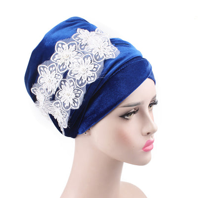 Abigail_Head wrap_Headscarf_Head wear_Head covering_Headscarves-Blue