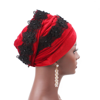 Abigail_Head wrap Headscarf_Head wear_Head covering_Headscarves-Red-2