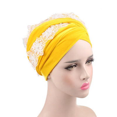 Abigail_Head wrap Headscarf_Headwear_Head covering_Headscarves-Yellow