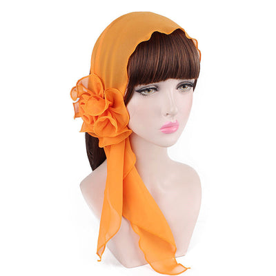 Bika Headband_Headwear_Headwrap_Headcovers_Orange