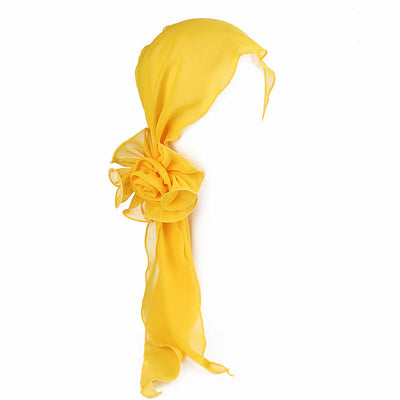 Bika Headband_Headwear_Headwrap_Headcovers_Yellow