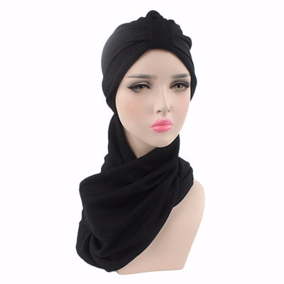 Headscarf, Head wrap, Head covering, Modest Chic, Hijab black