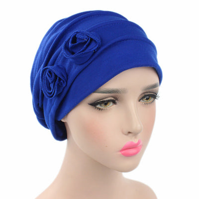 Blue hat, Hats, Head covering, Modest