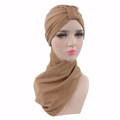 Headscarf, Head wrap, Head covering, Modest Chic, Hijab brown