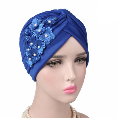 Christine_Floral_Turban_Turbans_Head_covering_Modest_Headcovers_Royal_Blue