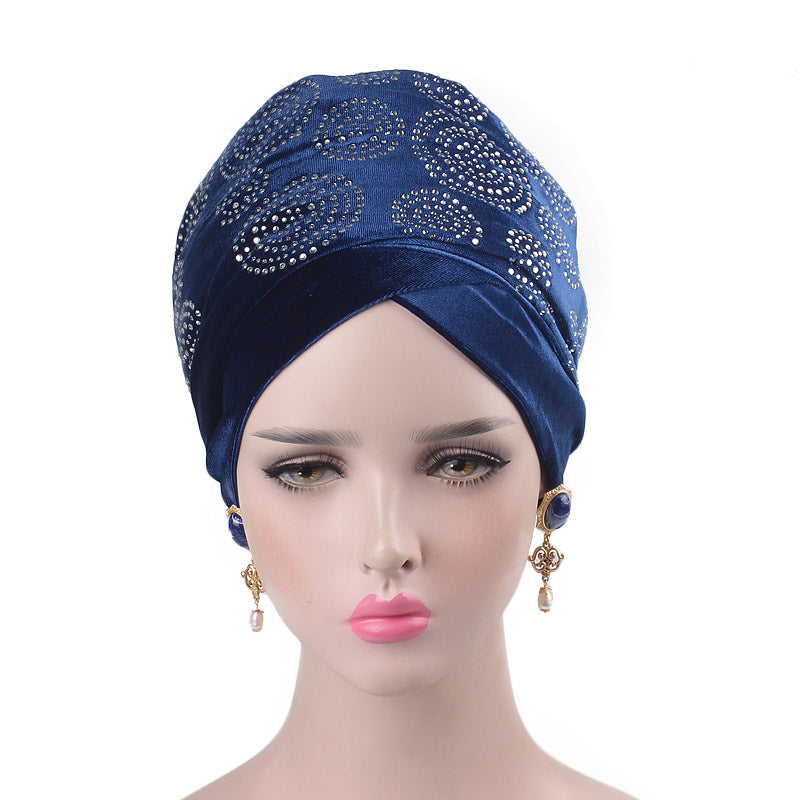 Doris_Nigerian_Head_wrap_Headwear_Head_covering_Headscarves_Blue-3