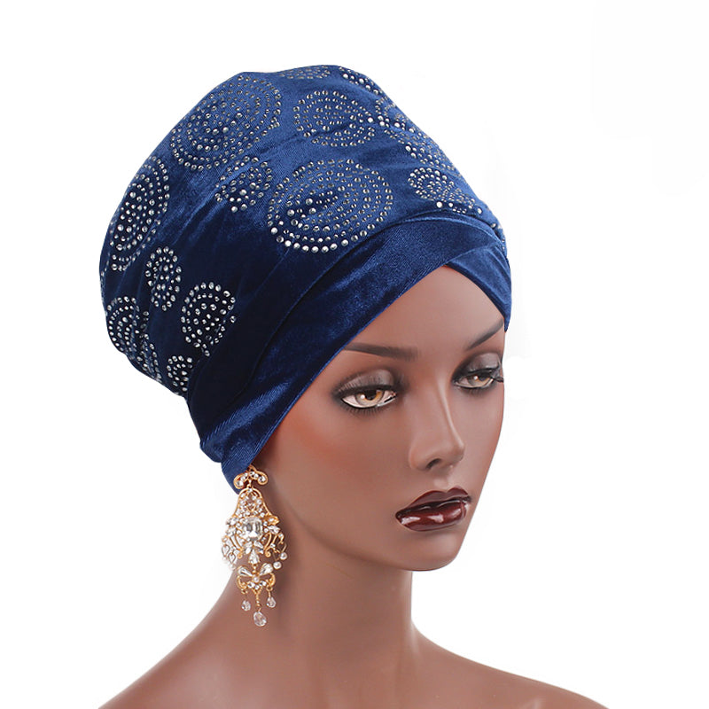 Doris_Nigerian_Head_wrap_Headwear_Head_covering_Headscarves_Blue-4