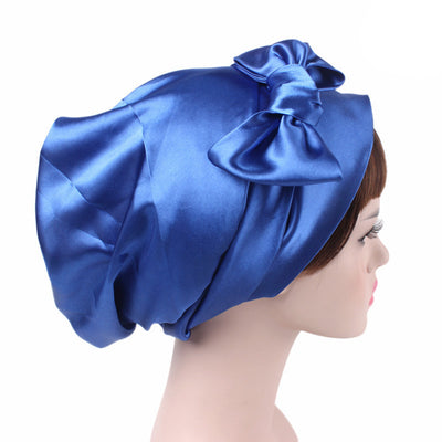 Felicia headscraf modest fashion mall bandannas headwear blue
