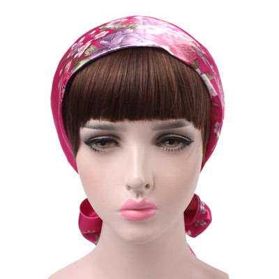 Felicia headscraf modest fashion mall bandannas headwear fuchsia5