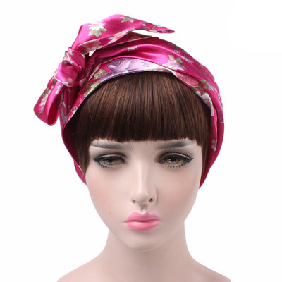 Felicia headscraf modest fashion mall bandannas headwear fuchsia2