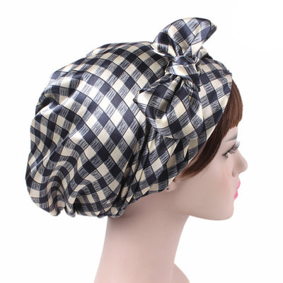 Felicia headscraf modest fashion mall bandannas headwear plaid