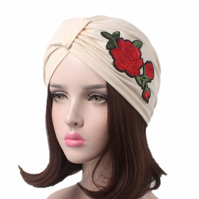 Turban, Turbans, Head covering, Modest, Beige patch turban