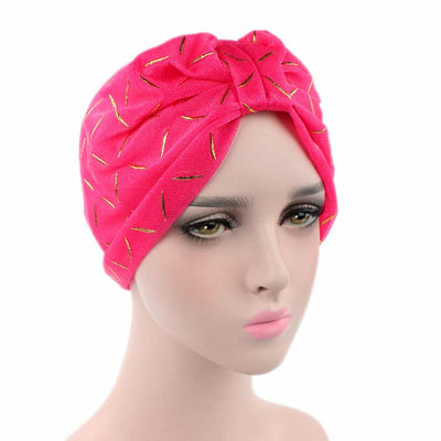 Geometric Mesh Turban_Turbans_Head_covering_Modest_Headcovres_Pink