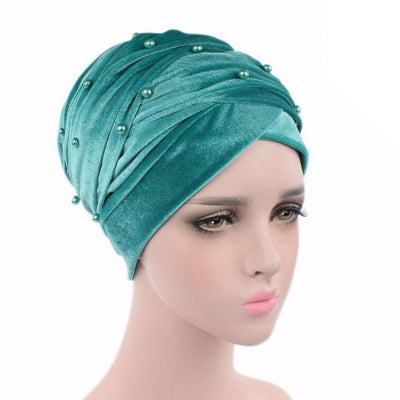 Headscarf, Head wrap, Head covering, Modest Chic, Green