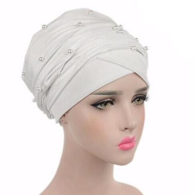 Headscarf, Head wrap, Head covering, Modest Chic, White