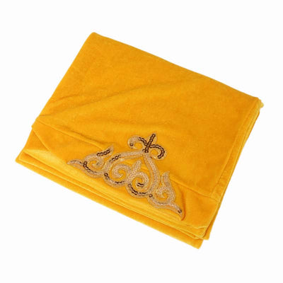 Hadeal Headscarf_Headwear_Head covering_Headscarves_Head wraps_Yellow