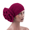 Jewel Shimmer Turban_Head covering_Head wrap_Flower_Shiny_Headcovers_Fancy_Rose