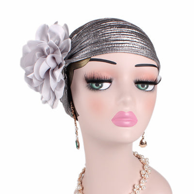 Elegant_Turban_Turbans_Head covering_Modest_Silver turban