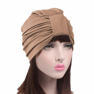 Soft_turban_head-covers_head-covering_modest_Cancer_hat_Basic_Brown