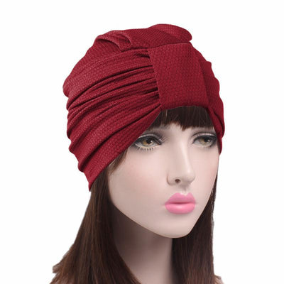 Soft_turban_head-covers_head-covering_modest_Cancer_hat_Basic_Red