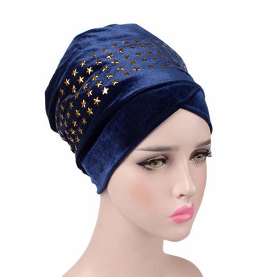 Star Velvet Head Wrap