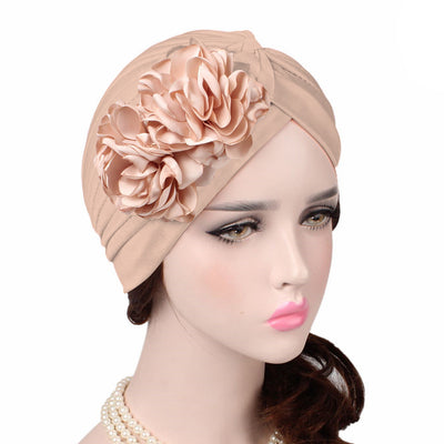 Virginia_Floral_Turban_Turbans_Head_covering_Modest_Headcovers_varients-beige
