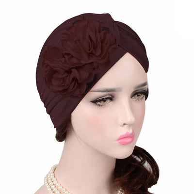 Virginia_Floral_Turban_Turbans_Head_covering_Modest_Headcovers_variants-brown
