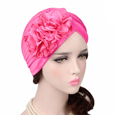 Virginia_Floral_Turban_Turbans_Head_covering_Modest_Headcovers_variants-hot_pink
