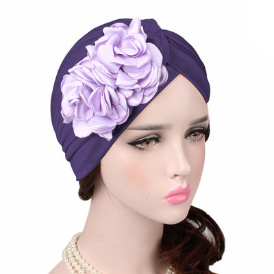Virginia_Floral_Turban_Turbans_Head_covering_Modest_Headcovers_variants-purple