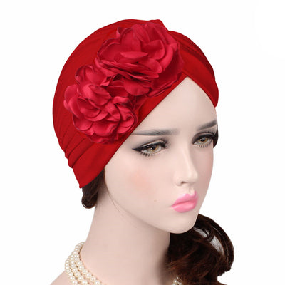Virginia_Floral_Turban_Turbans_Head_covering_Modest_Headcovers_variants-red