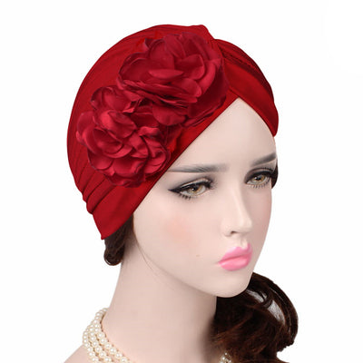 Virginia_Floral_Turban_Turbans_Head_covering_Modest_Headcovers_variants-wine