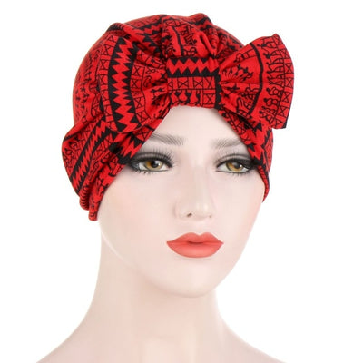 Betty Bow Cotton Turban