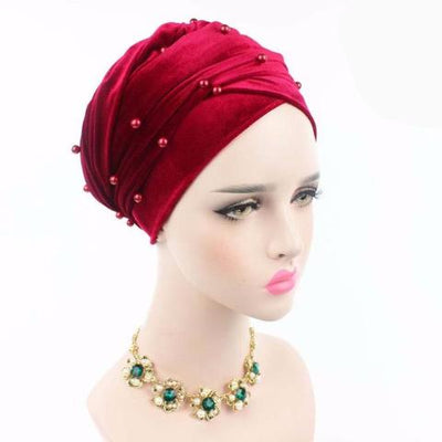 Headscarf, Head wrap, Head covering, Modest Chic, Red