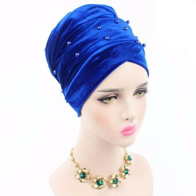 Headscarf, Head wrap, Head covering, Modest Chic, Blue