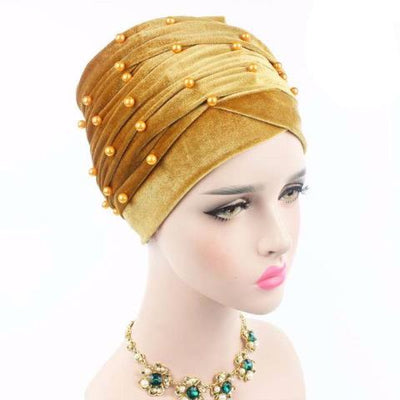 Headscarf, Head wrap, Head covering, Modest Chic, Gold