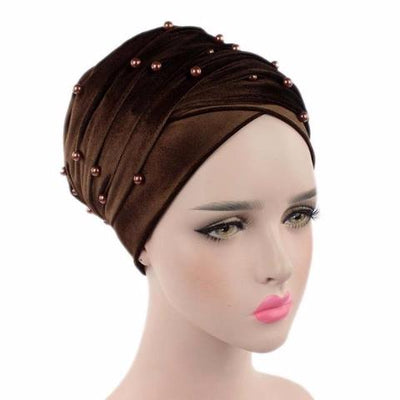 Headscarf, Head wrap, Head covering, Modest Chic, Brown