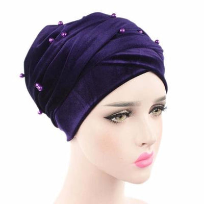 Headscarf, Head wrap, Head covering, Modest Chic, Purple